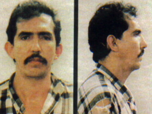 "ramirezdahmerbundy:  According to Colombian police, Luis Alfredo Garavito is a glib predator and a ""solitary sadist"" who stands accused as one of the world's worst serial killers. In 1999, Garavito, a 42-year-old drifter, confessed to the slayings of at least 140 boys between the ages of 8 and 16 during a 5-year killing spree. Garavito would befriend the children and take them on long walks until they were tired. Then he would tie them up with nylon rope, slit their throats or behead them, and then bury their bodies. Most of Garavito's victims were street children, children from poor families, or children seperated from their parents by poverty or political violence. Authorities said it was beacause there was no one to notice that the children were missing or to inquire about their whereabouts that Garavito was able to go on killing for so long without being detected."