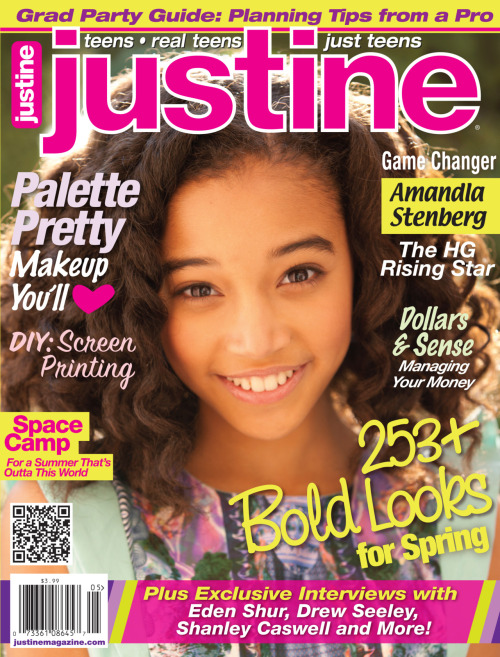 Our Apr/May cover featuring Amandla Stenberg! Spring is in the air!