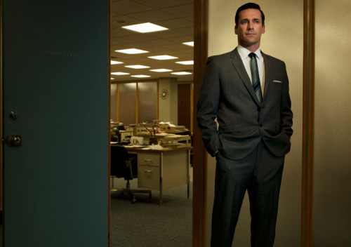 "What can a new book tell us about the real 'Mad Men'?  ""I don't know about evil, but it had certainly become boring by the '50s, dominated by sober, patrician types who would have been just as comfortable filling legal briefs as writing ads. Indeed, their work reflected all the creativity of contracts law. Cracknell calls the hidebound industry ""little more than a shouted bulletin board."" Ads of that time were for the most part dutiful, accurate descriptions of products—""fiercely honorable"" Cracknell brands the ad man of the '50s, in what is not even remotely a compliment. And then Don Draper walked into the room."" - Alexander Nazaryan ""Promotions"" Photo courtesy of AMC"