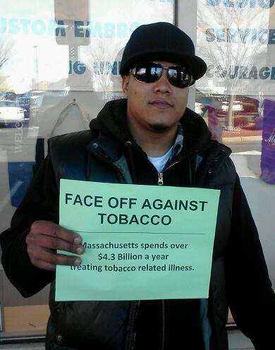 "Face Off Against Tobacco on Flickr. ""Crazy how much money goes into habits, especilly the peoples tax dollars."""