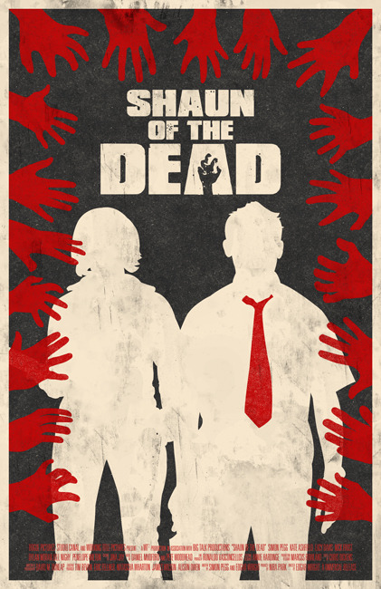 Shaun of the Dead - by Bill Pyle Prints available at Etsy and Society6 DeviantART || Twitter || Facebook