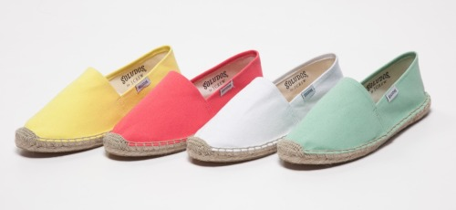 Love these sunfaded slip-ons! Soludos for J.Crew Dali espadrilles, $34.50, jcrew.com
