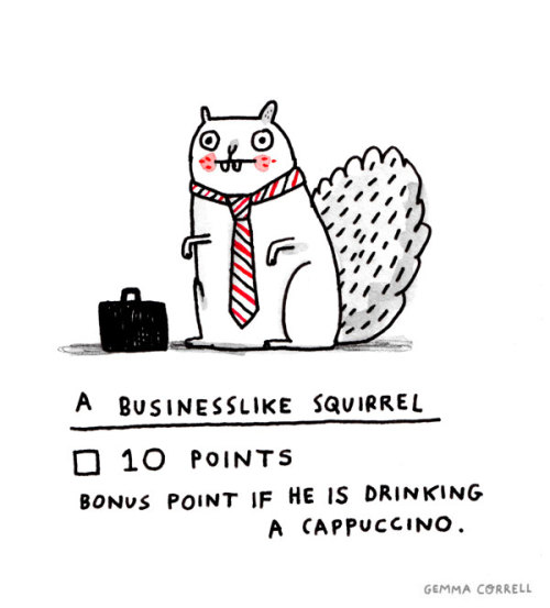 "gemmacorrell:  One of my drawings for my ""I Spy with my Little Eye"" exhibition at Pictoplasma 2012"