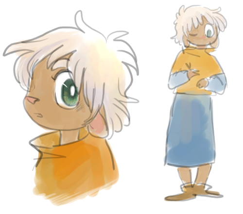trying to revamp or at least tweak oldish character designs… 8[ oh yeah, Nanen originates from this comic: http://sulphurspoon.deviantart.com/art/Rubber-Duck-1-5-74019690 http://sulphurspoon.deviantart.com/art/Rubber-Duck-6-10-74019882