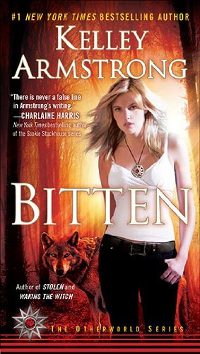 "Bitten: A Novel (Women of the Otherworld)  Kelley Armstrong     ""Frisky…Tells a rather sweet love story, and suggests that being a wolf may be more comfortable for a strong, smart woman than being human."" -The New York Times Book Review  Elena Michaels seems like the typically strong and sexy modern woman, She lives with her architect boyfriend, writes for a popular newspaper, and works out at the gym. She's also a werewolf. Elena has done all she can to assimilate to the human world, but the man whose bite changed her existence forever, and his legacy, continue to haunt her. Thrown into a desperate war for survival that tests her allegiance to a secret clan of werewolves, Elena must recon with who, and what, she is in this passionate, page-turning novel."