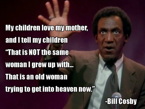 Bill Cosby on grandmothers  画