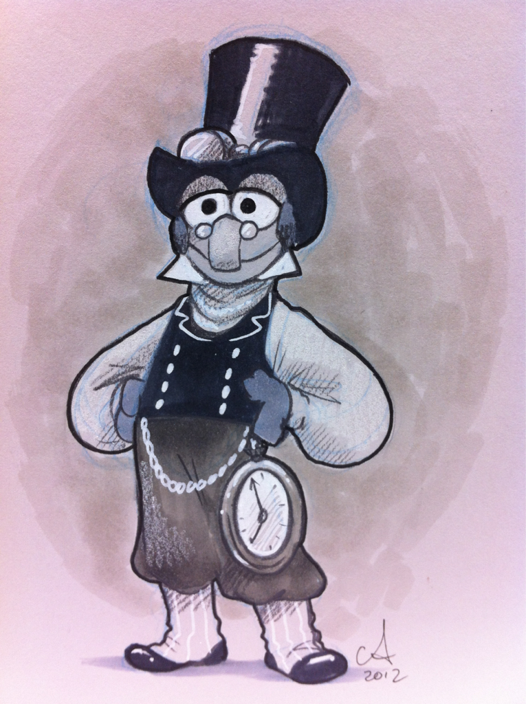 Steampunk Gonzo - #ECCC commission