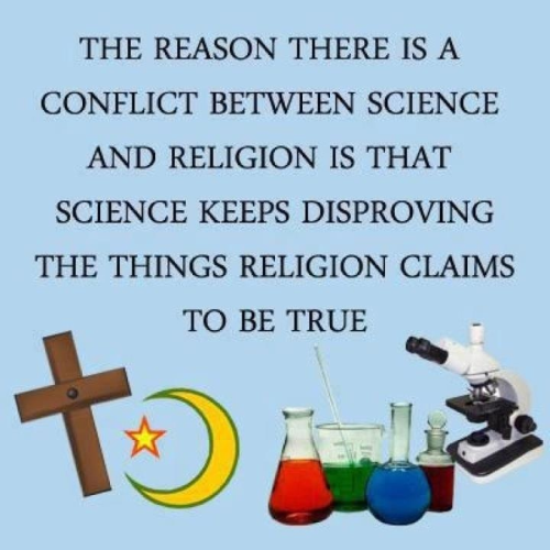 divineirony:  religiousragings:  Science is closing the last important gap - the something from nothing argument is now much better answered by science then by any god. ~ Steve   Pesky Science! And they would've gotten away with it too!