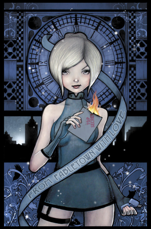 villainish:  Cinderella Issue 1 Cover by Chrissie Zullo