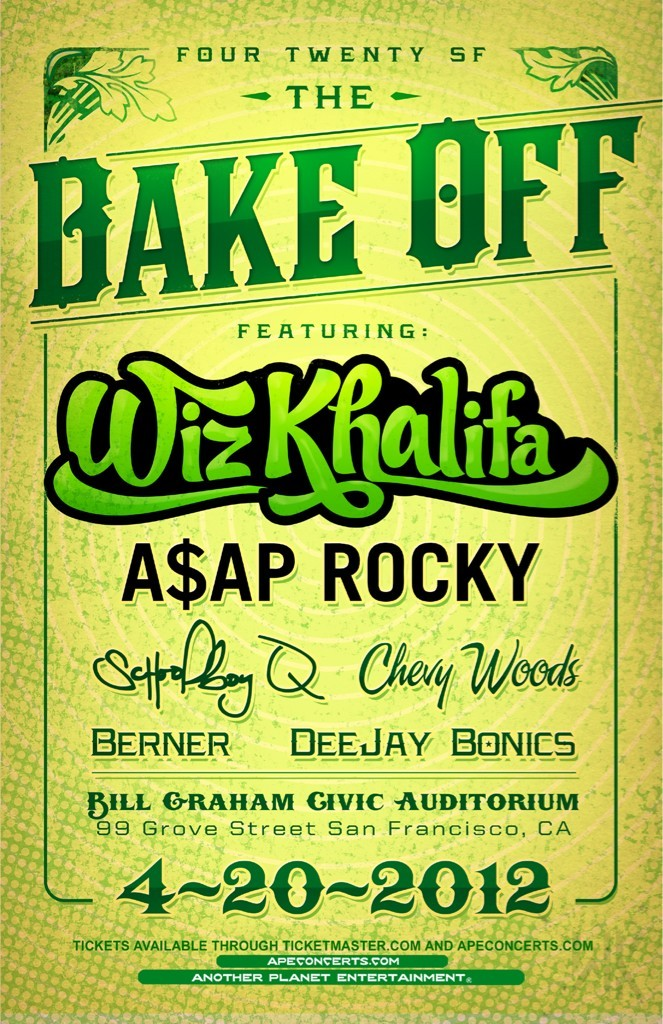 longliveasap:  Frisco get ready….4/20    I wanna go so bad