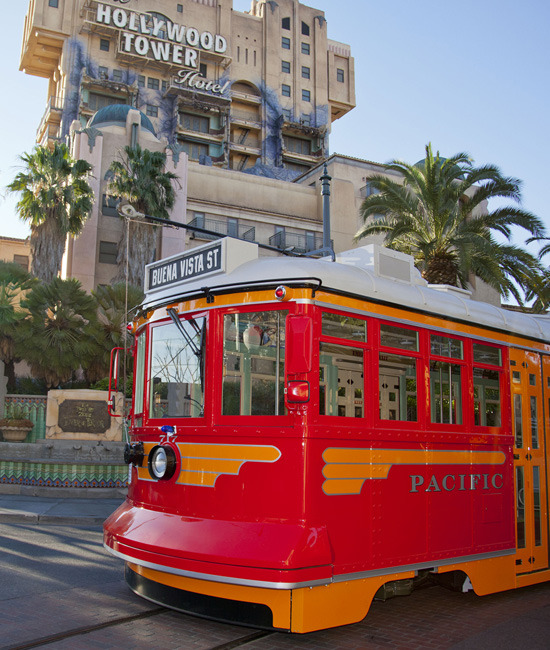 First Pictures of the New Buena Vista Street Trolley