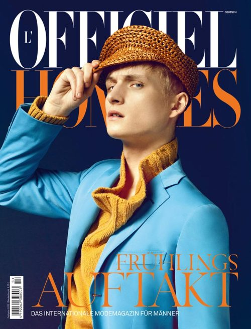 L'Officiel Hommes Germany.