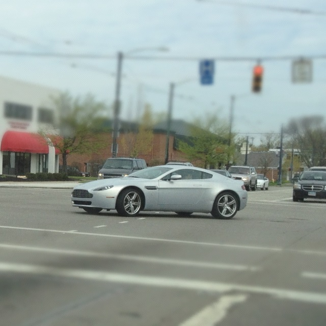 Saw this Aston Martin on my way to brunch!