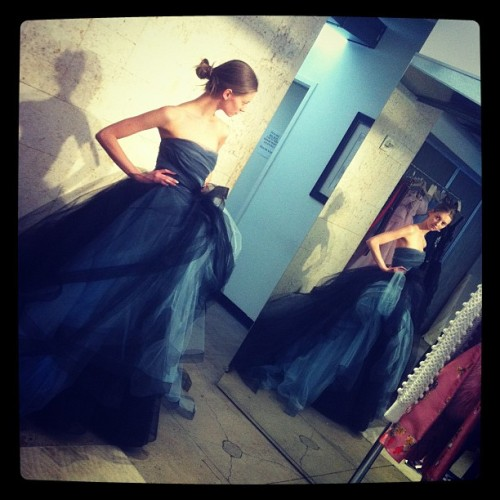 oscarprgirl:  fitting for our fall campaign, Oscar de la Renta