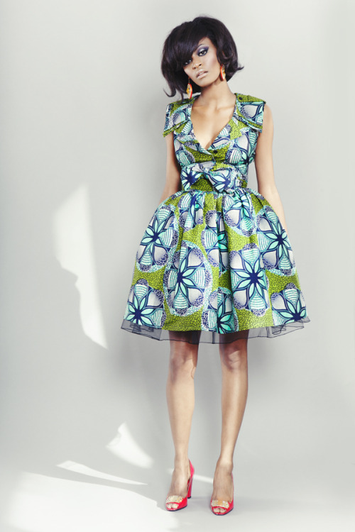 fabafricanblack:  Sika Spring/Summer 2012 collection 'Labyrinth'