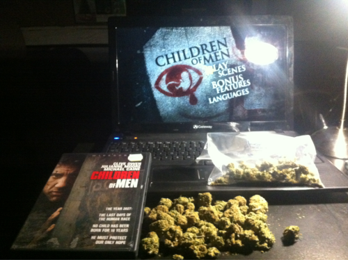 Bunch of weed. Children of Men.
