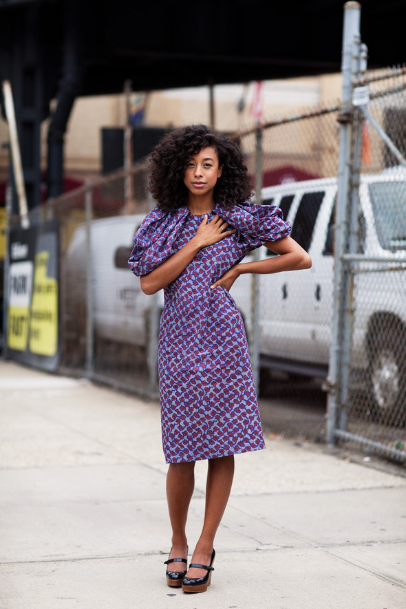 corinne bailey rae by the sartorialist