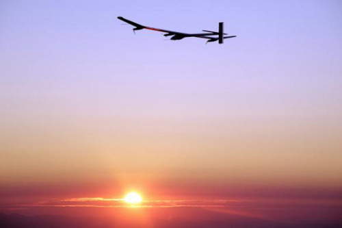 Solar Plane Set for New Record-Breaking Flight