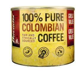 Colombia, coffee, cocaine. I wonder if they make craisins too??