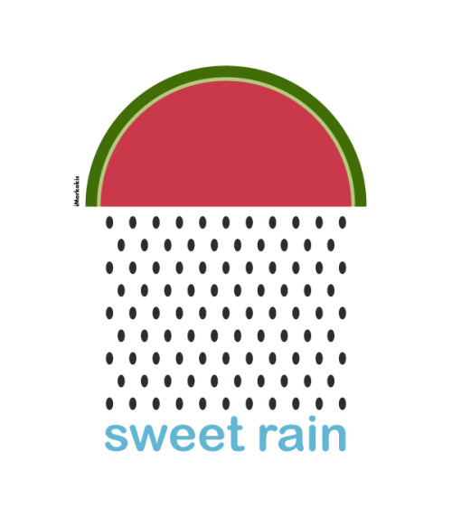 Sweet rain by Ioannis Markakis (via ILLUSTRATION on the Behance Network)