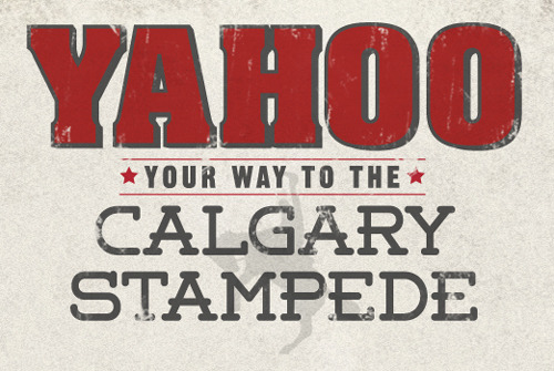 YAHOO Your Way To The Calgary Stampede With Travel Alberta How can you sum up the Calgary Stampede in one word? We can't think of one more fitting than YAHOO! For the past 100 years, Alberta has been home to the Greatest Outdoor Show on Earth, attracting thousands of people every year to the great city of Calgary. Fantastic music, deliciously unique food, and of course the rodeo, transform the Stampede Grounds into an international destination that we look forward to every year; one so exciting not even William & Kate could stay away. With its centennial birthday this July, we worked with Travel Alberta to create a special tribute to this classic festival - and to reward one lucky Travel Alberta Facebook fan. By capturing and uploading your best YAHOO!, you can win an exclusive trip for two to the festival! The winner will be announced on May 7 so get ready and start shoutin'!