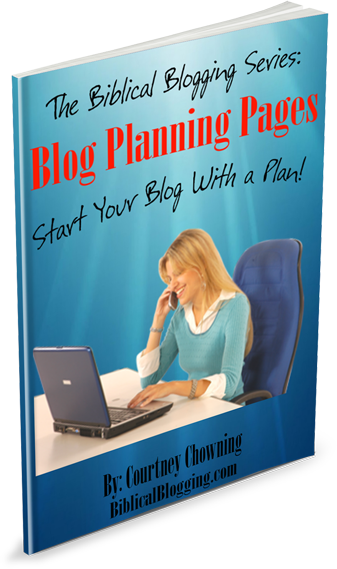 Use these blog planning pages to help get your blog started on the right foot!