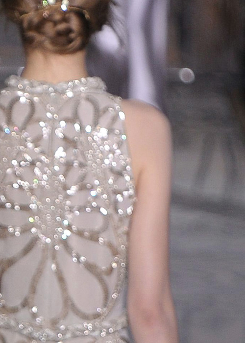Details at Valentino Couture FW 2011