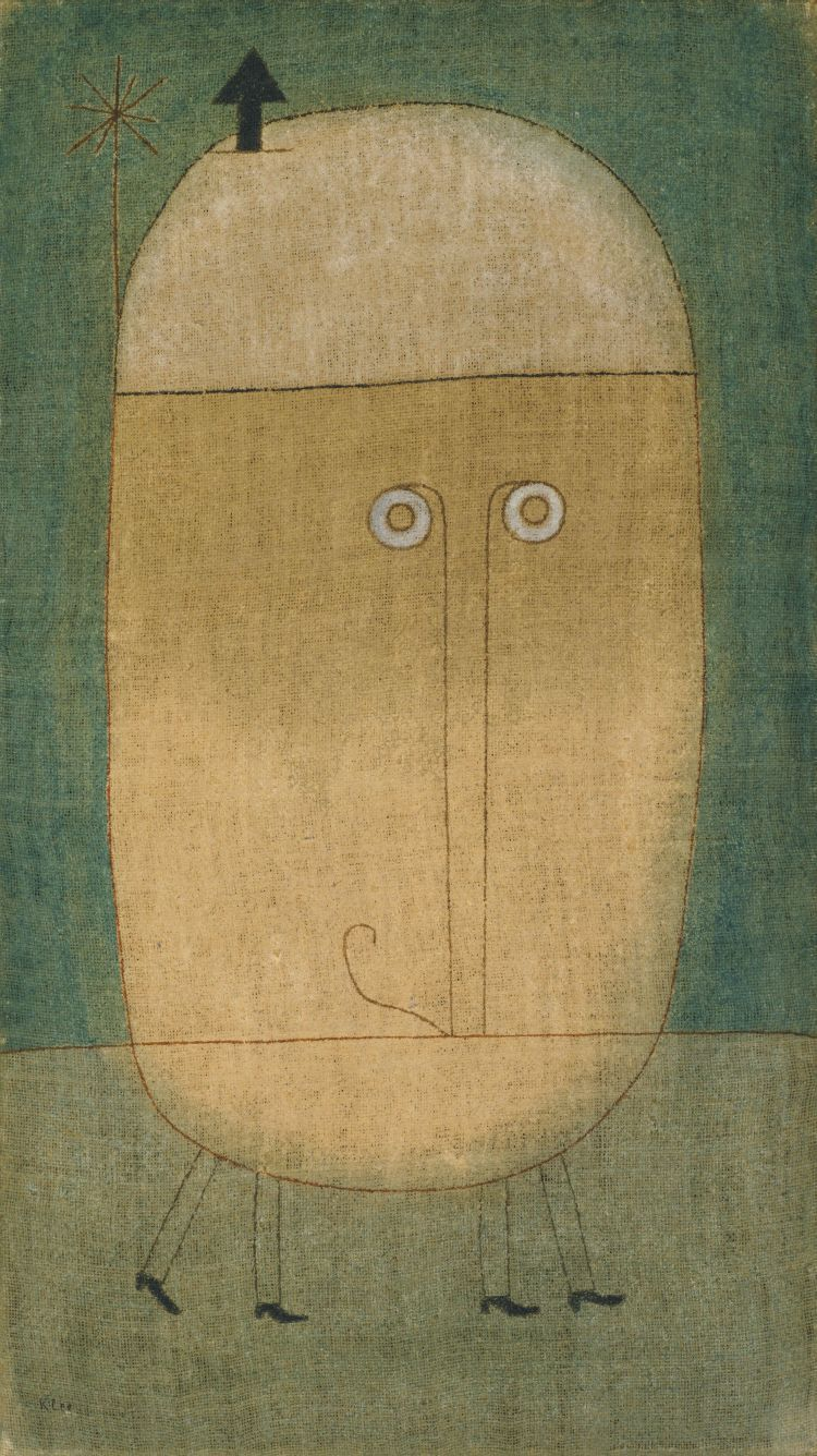 Mask of Fear [1932] Paul Klee