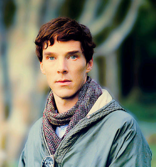 cumberbuddy:  trusttheplasticman:  THOSE EYES! :O  He has such a beautiful face does our Benedict.
