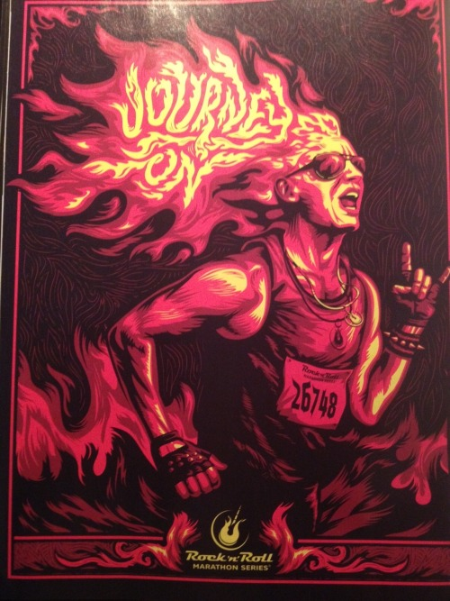 repeatall:  Awesome ad for the Rock 'n' Roll Marathon Series  I would love to do an R&R next year.