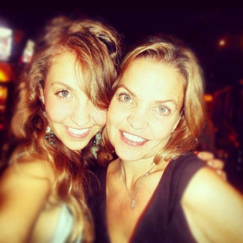 ilovemacymaloy:  Macy and her mother <3