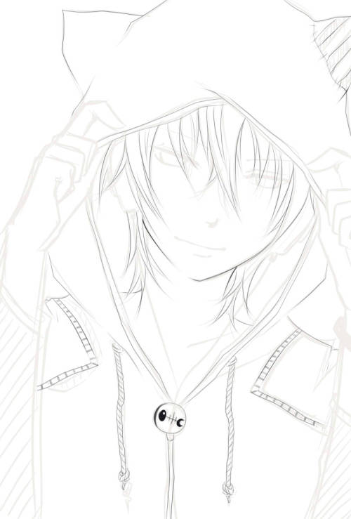 I will finish lining this OTL