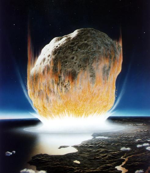 "cozydark:  Comets Deposited Building Blocks of Life On Primordial Earth | New research reported in San Diego on March 27 at the 243rd National Meeting & Exposition of the American Chemical Society (ACS) provides further support for the idea that comets bombarding Earth billions of years ago carried and deposited the key ingredients for life to spring up on the planet. Jennifer G. Blank, Ph.D., who led the research team, described experiments that recreated with powerful laboratory ""guns"" and computer models the conditions that existed inside comets when these celestial objects hit Earth's atmosphere at almost 25,000 miles per hour and crashed down upon the surface. The research is part of a broader scientific effort to understand how amino acids and other ingredients for the first living things appeared on a planet that billions of years ago was barren and desolate. Amino acids make up proteins, which are the workhorses of all forms of life, ranging from microbes to people. ""Our research shows that the building blocks of life could, indeed, have remained intact despite the tremendous shock wave and other violent conditions in a comet impact,"" Blank said. ""Comets really would have been the ideal packages for delivering ingredients for the chemical evolution thought to have resulted in life. We like the comet delivery scenario because it includes all of the ingredients for life — amino acids, water and energy."" continue reading"
