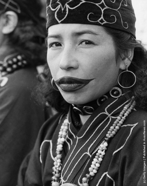 "gaynotqueer:  Until very recently (the last fully tattooed Ainu woman died in 1998), Ainu women retained a tradition of facial tattooing lending support to the argument that the ancient Jomon employed the custom in the distant past. For the Ainu, tattooing was exclusive to females, as was the profession of tattooist. According to mythological accounts, tattoo was brought to earth by the ""ancestral mother"" of the Ainu Okikurumi Turesh Machi who was the younger sister of the creator god Okikurumi. Because tattooing represented an ancestral custom derived from one common female ancestress, it was continued down through the centuries in the matrilineal line. Viewing tattoo practices through the lens of kinship, it is not surprising that the position of tattoo artist was customarily performed by grandmothers or maternal aunts who were called ""Tattoo Aunts"" or simply ""Tattoo Women"". At various times in history, Japanese authorities prohibited the use of tattoos by the Ainu (and other ethnic peoples under their authority like the indigenous peoples of Taiwan) in attempts to dislocate them from their traditional cultural practices and prepare them for the subsequent process of Japanization. As early as 1799, during the Edo Period, the Ezo Shogunate issued a ban on tattoos: ""Regarding the rumored tattoos, those already done cannot be helped, but those still unborn are prohibited from being tattooed"". In 1871, the Hokkaido Development Mission proclaimed, ""those born after this day are strictly prohibited from being tattooed"" because the custom ""was too cruel"". And according to one Western observer, the Japanese attitude towards tattooing was necessarily disapproving since in their own cultural system, ""tattooing was associated with crime and punishment whereas the practice itself was regarded as a form of body mutilation, which, in case of voluntary inflictment, was completely averse to the prevalent notions of Confucian filial conduct"". Of course, the Ainu vehemently evaded these laws because tattoos were traditionally a prerequisite to marriage and to the afterlife. One report from the 1880s describes that the Ainu were very much grieved and tormented by the prohibition of tattooing: ""They say the gods will be angry, and that the women can't marry unless they are tattooed. They are less apathetic on this than on any subject, and repeat frequently, 'It's part of our religion.'"" One Ainu woman stated in the 1970s, ""I was twenty-one years old before I had this little tattoo put on my lips. After it was done, my mother hid me from the Japanese police for five days. I wish we could have retained at least this one custom!"" The modern Ainu term for tattooing is nuye meaning ""to carve"" and hence ""to tattoo"" and ""to write"", or more literally, sinuye ""to carve oneself"". The old term for tattoo was anchi-piri (anchi, ""obsidian""; piri, ""cut"")."