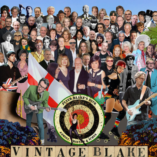 Peter Blake, best known for designing The Beatles'Sgt Pepper's Lonely Hearts Club Band,is celebrating his 80th birthday and the album's 45th with a reinterpretation of the famous cover, this time with images of his own heroes and friends.