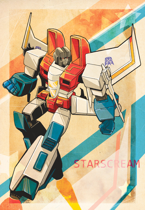 angelophile:  Starscream by ~twotenjack11 on Deviantart.
