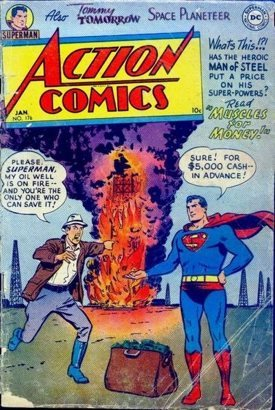 Superman being a sociopath.