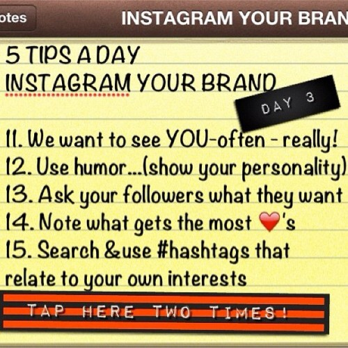 5 New Tips to use Instagram to build your brand!