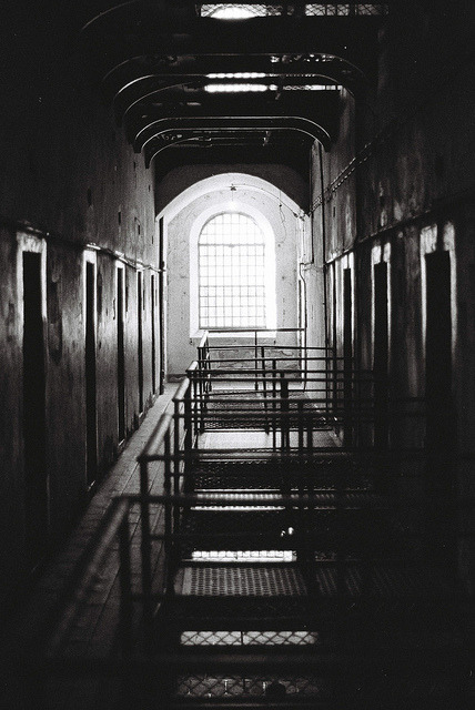 The death row from Kilmainham Jail on Flickr.