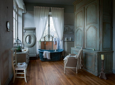 (via bathroom, nature, vintage - inspiring picture on Favim.com)
