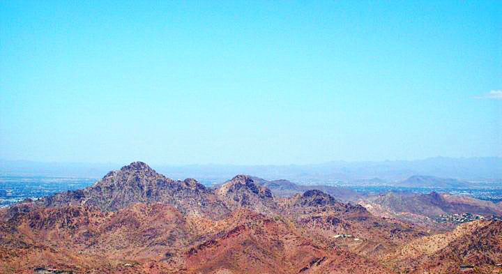 A shot of Camelback Mountain I took while vacationing in Arizona. © Melting Blot