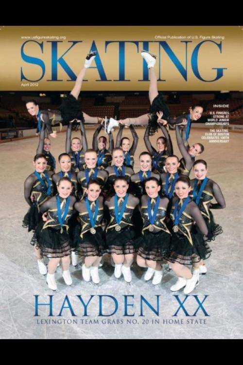 Synchro on the cover of Skating Magazine!
