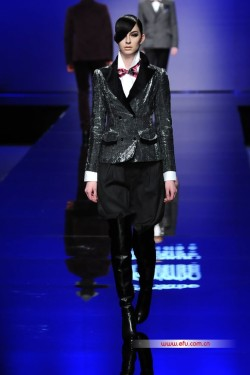 Kara at Edenbo AW 2012/2013 - China Fashion Week