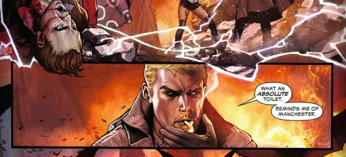 Easy now Mr Constantine. Justice League Dark #7