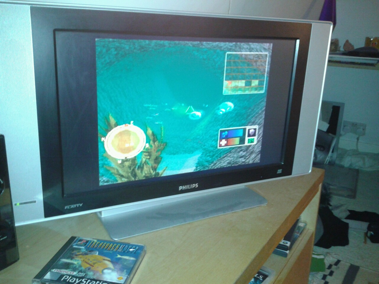 Playing ps1 with sam n___n