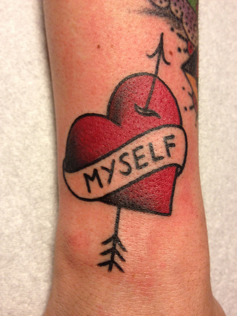 missupsetter:  love yourself by (((o.kvlt))) on Flickr.BEST! I wish I thought of this first…