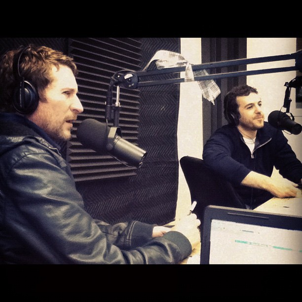 Scott Aukerman & Fred Savage (Taken with instagram)
