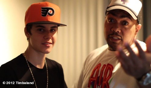 """@Timbaland: me and @justinbieber workin on some fire, check out his new song #boyfriend …"""