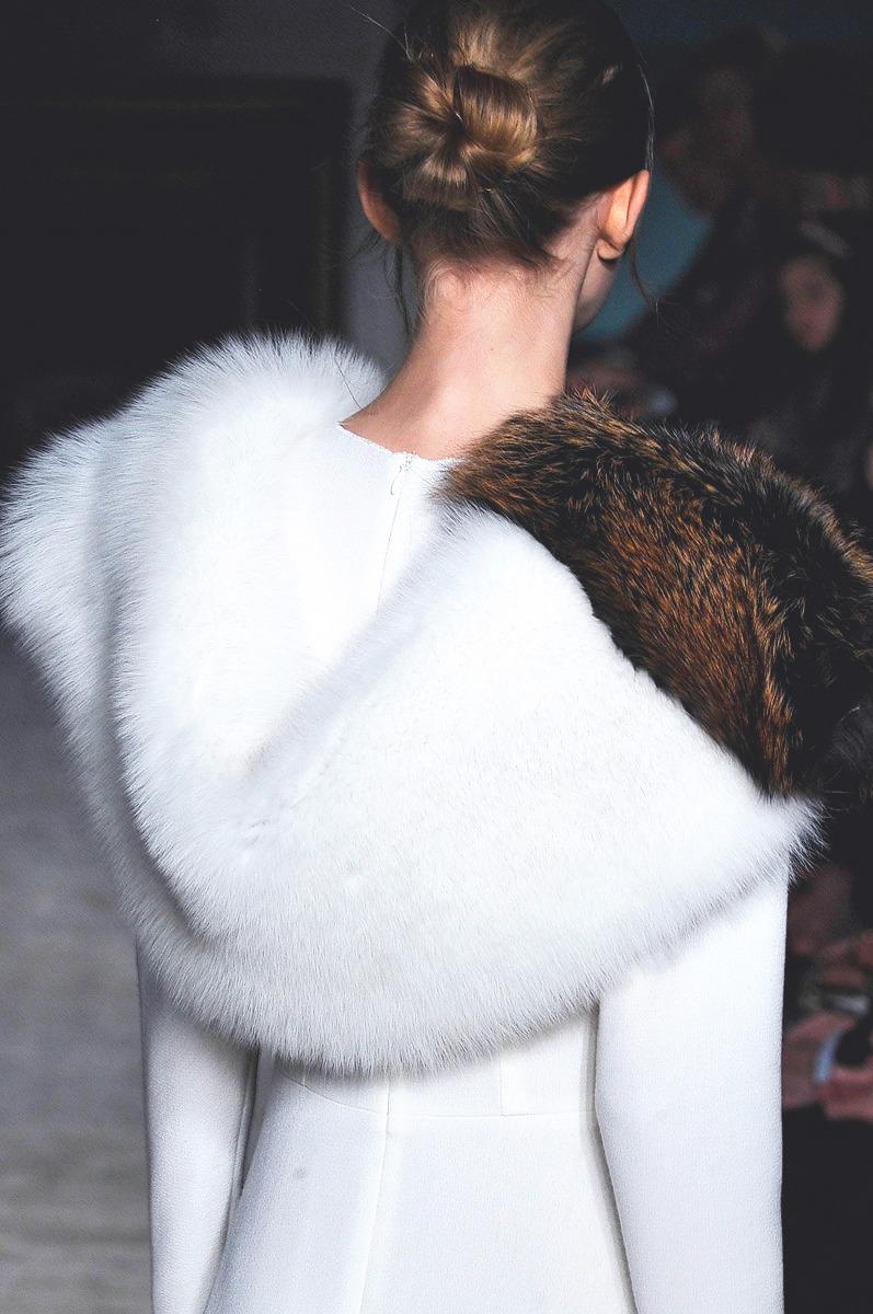 philoclea:  detail at Roksanda Ilincic, Fall 2012