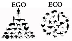 fuckyeahupcycle:  Ego vs Eco.